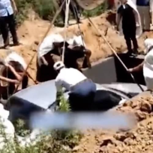 ¿Puede usarse un coche como ataúd en un entierro? En China sí