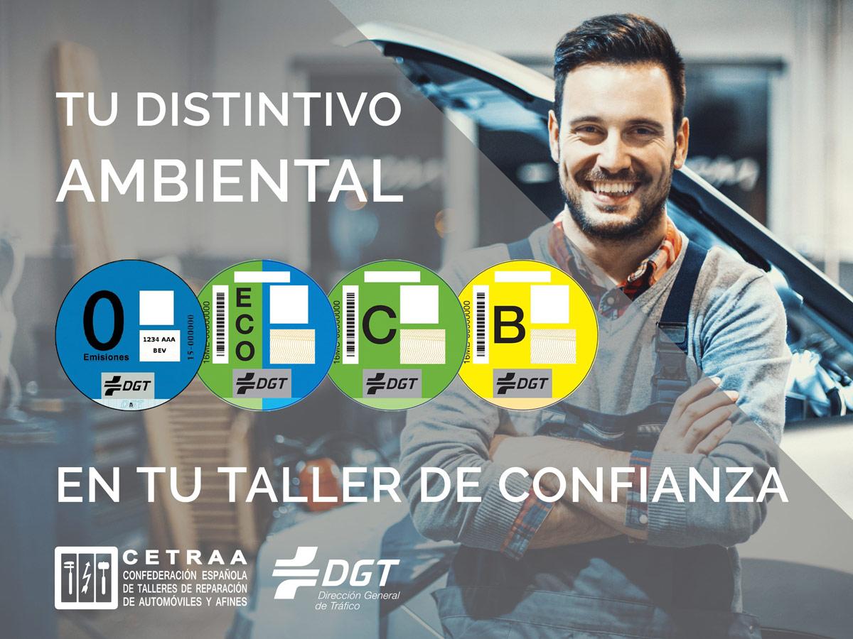Etiqueta DGT talleres