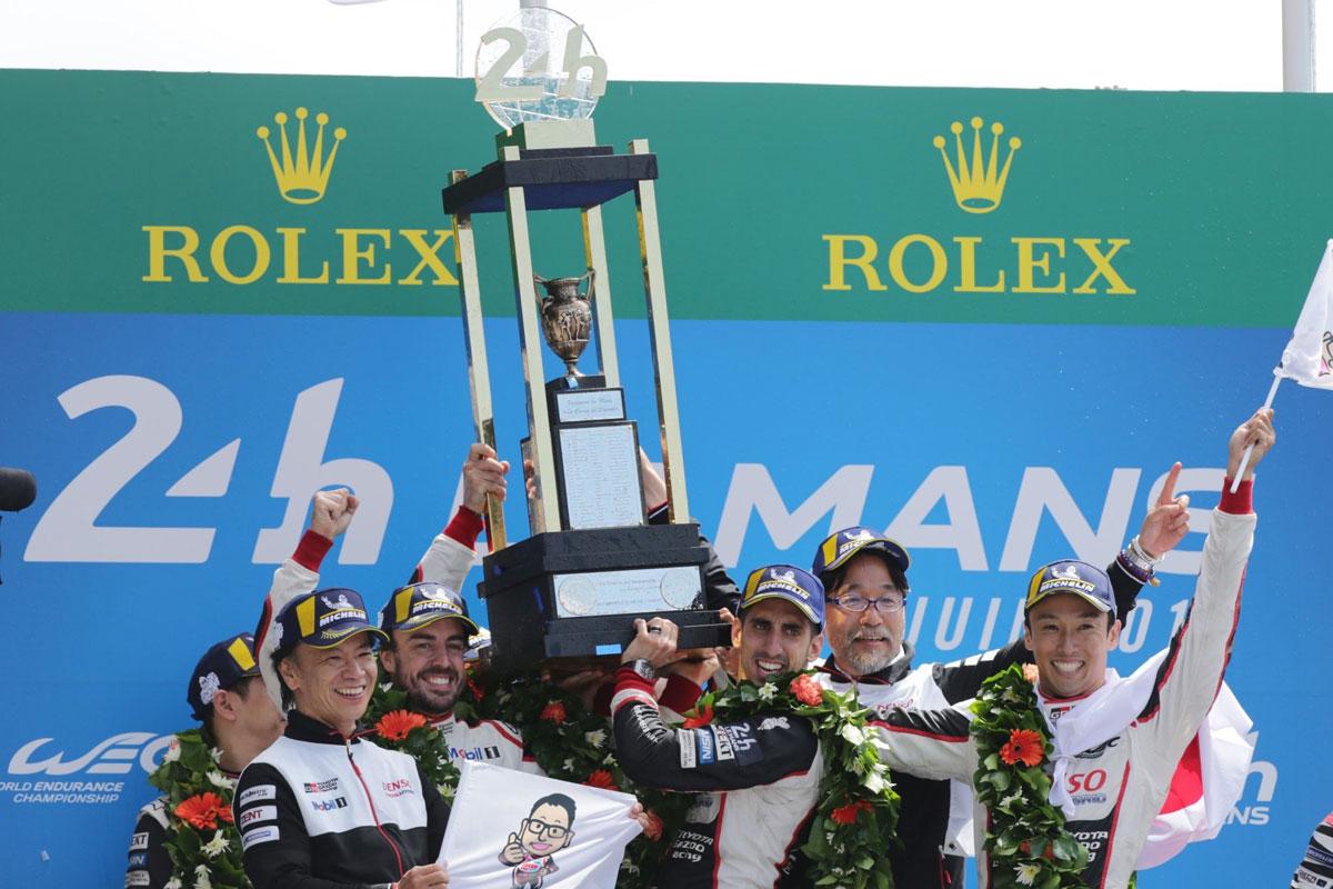 Alonso Triple Corona