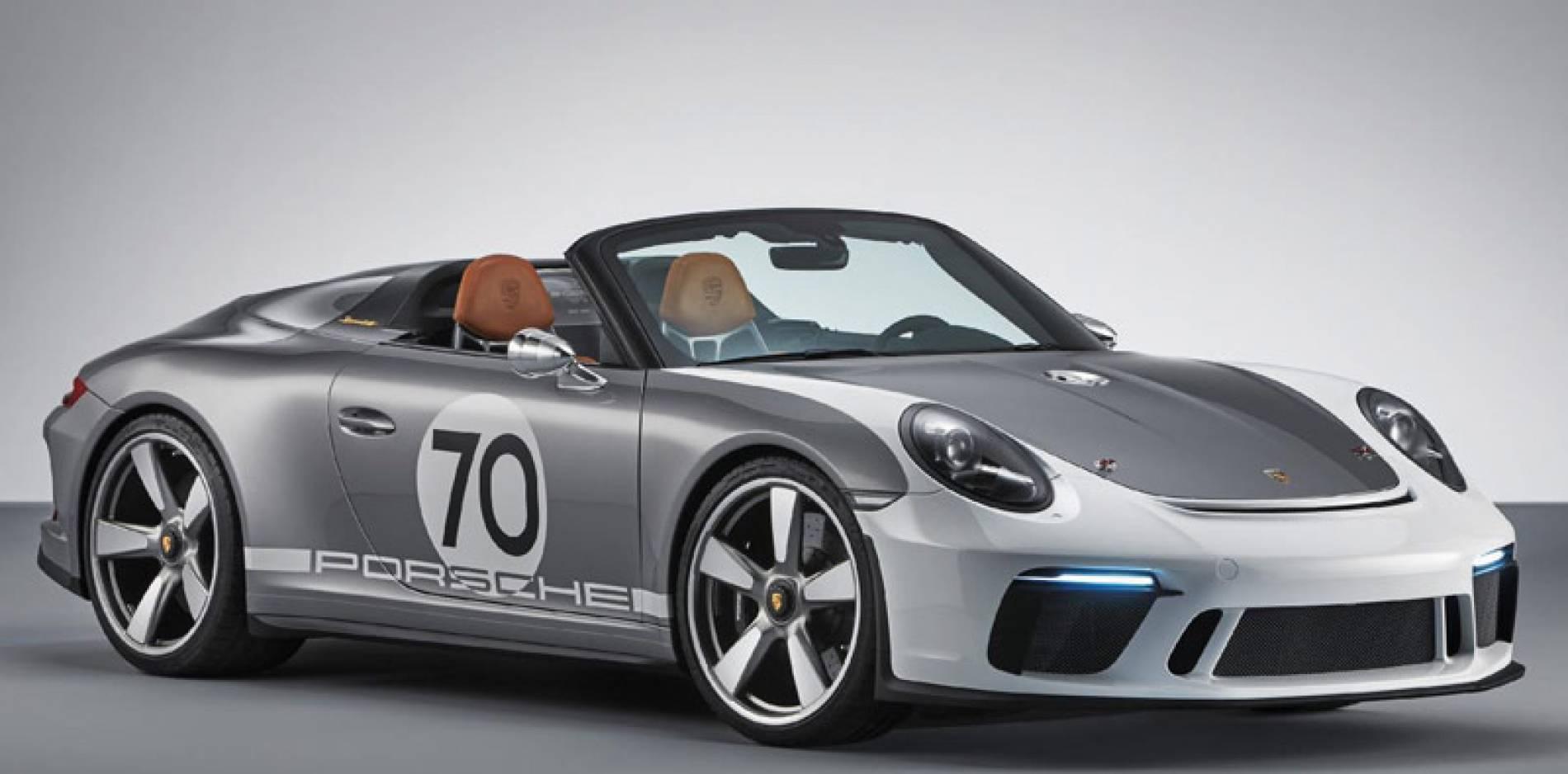 Porsche 911 Speedster Concept, la alemana impresiona en su 70 aniversario