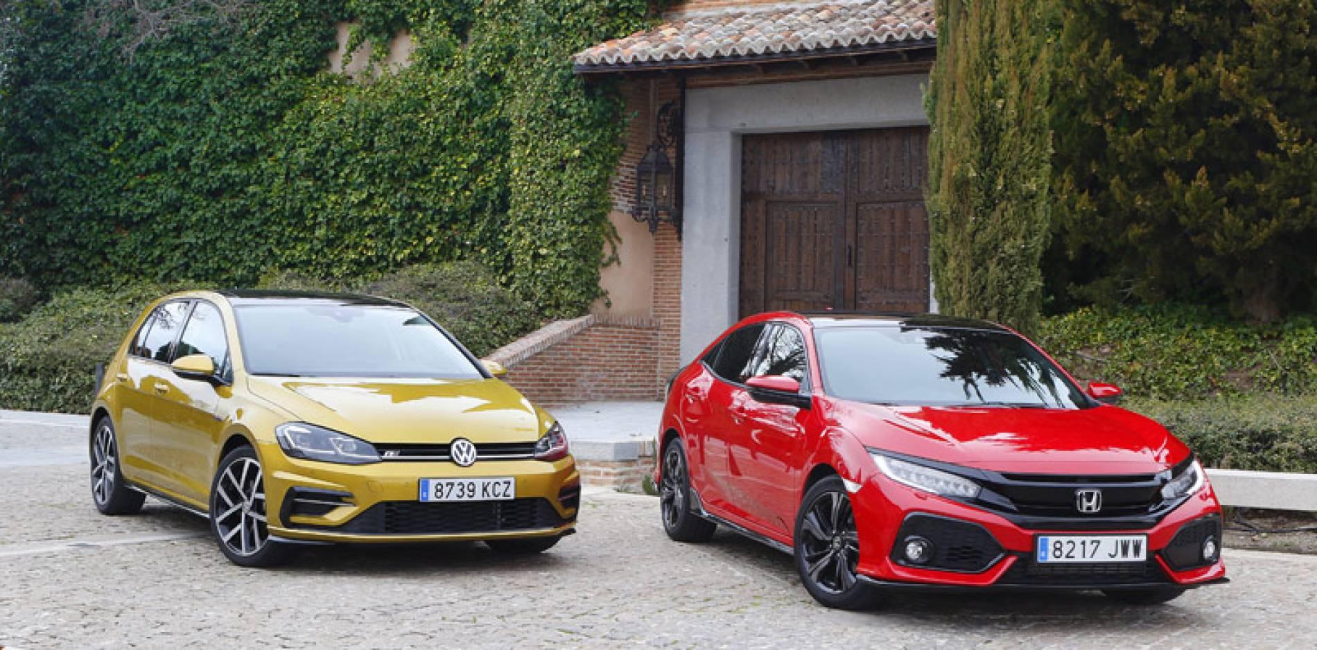 Volkswagen Golf vs. Honda Civic: David contra Goliat