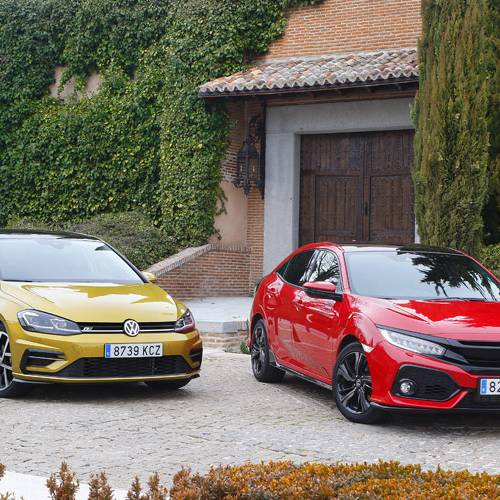 Volkswagen Golf vs. Honda Civic: David contra Goliat