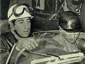 El primer español a mandos de un Ferrari