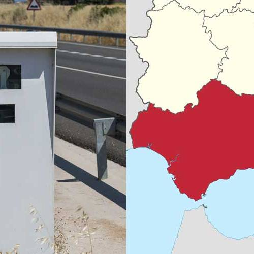 Todos los radares de Andalucía