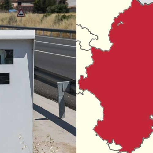 Todos los radares de Aragón