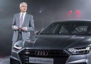 "Rupert Stadler, CEO de Audi, detenido por el ""diéselgate"""