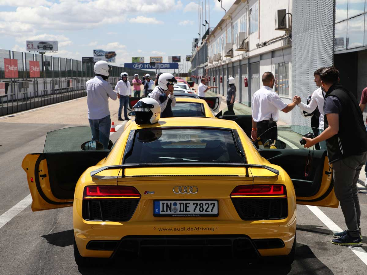 Audi Sportscar Driving Experience