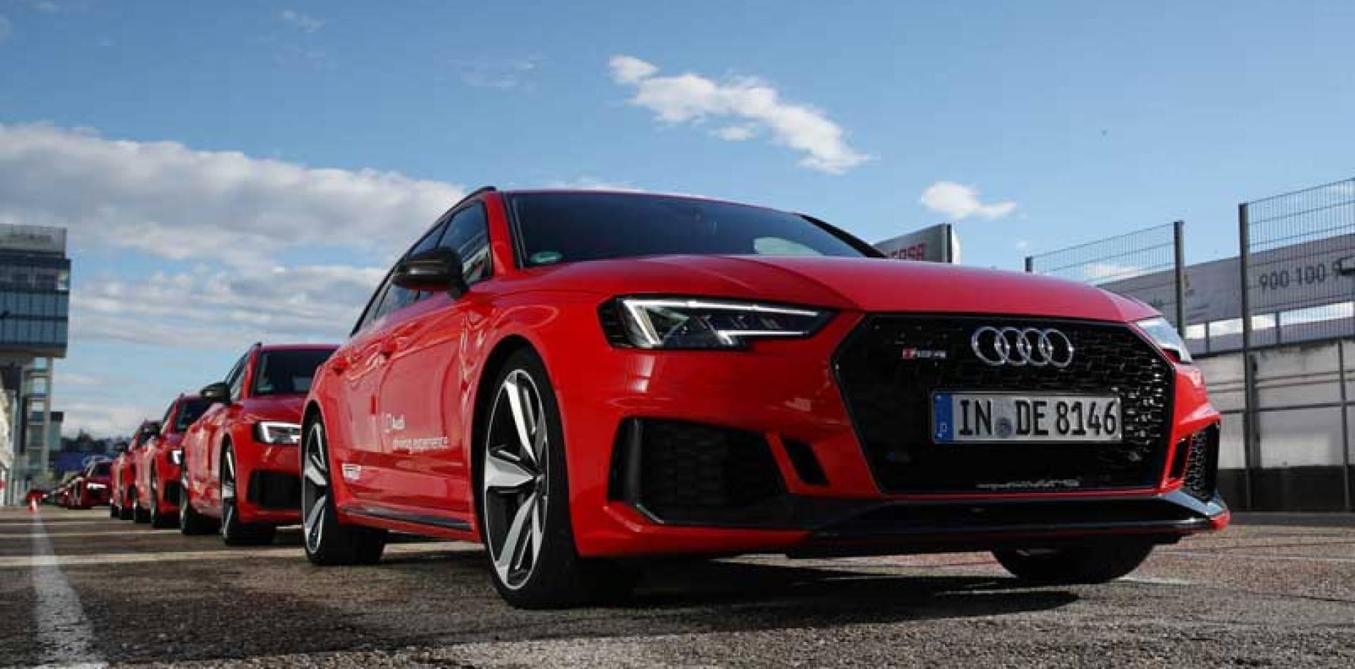 Audi Sportscar Driving Experience, pilotos por un día