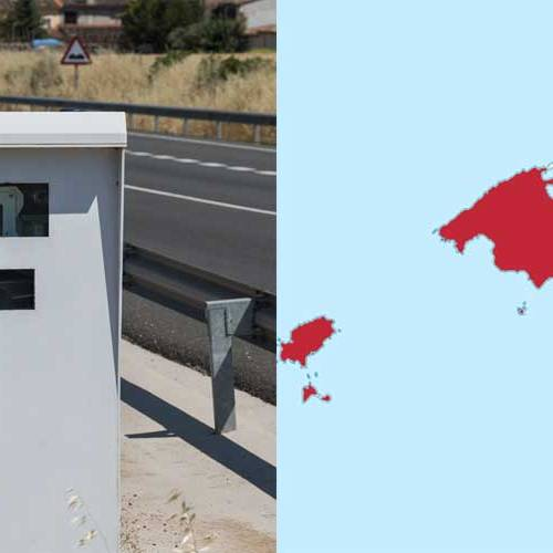 Todos los radares de Baleares
