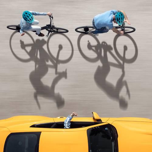 La nueva iniciativa de Ford para proteger a los ciclistas