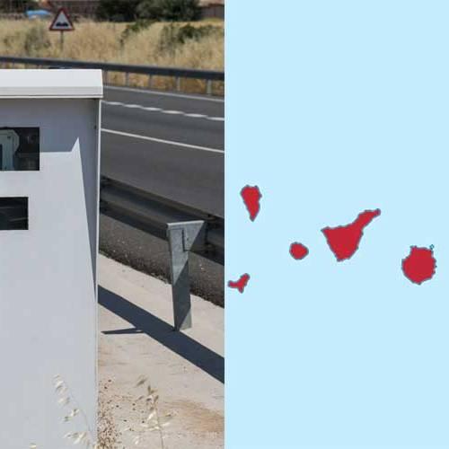 Todos los radares de Canarias