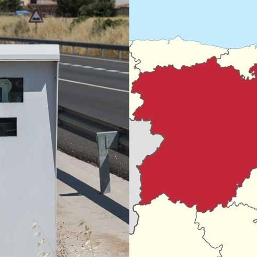 Todos los radares de Castilla y León