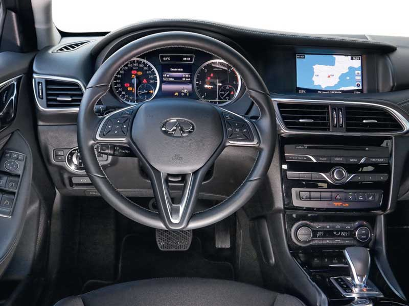 Comparativa BMW 116d 5P Auto vs. Infiniti Q30 1.5D Premium 7DCT