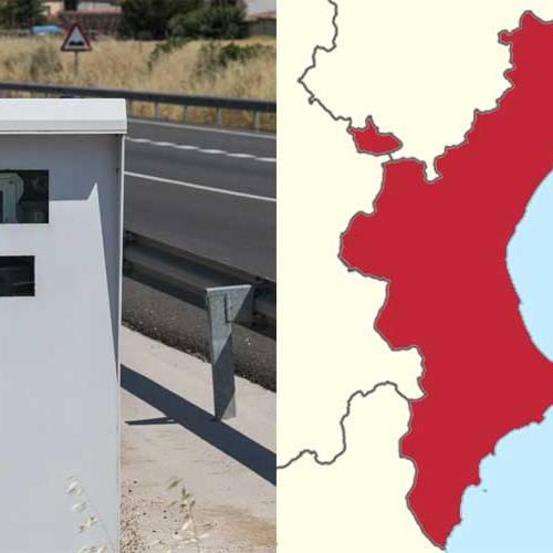 Todos los radares de la Comunidad Valenciana