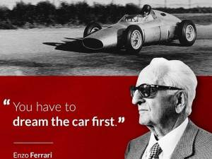 Enzo Ferrari, un visionario.