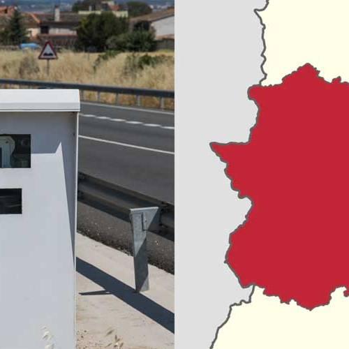 Todos los radares de Extremadura