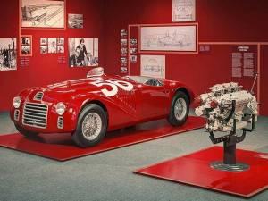 El primer deportivo de Ferrari