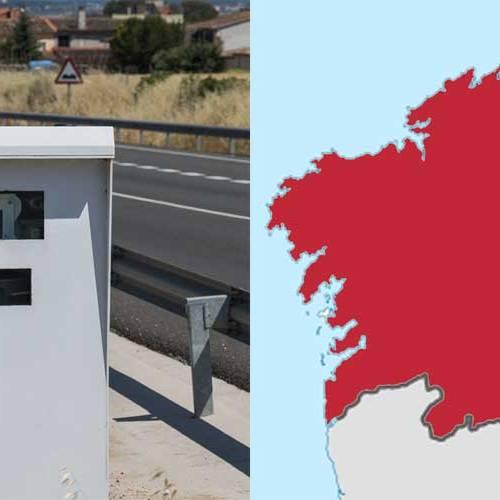 Todos los radares de Galicia