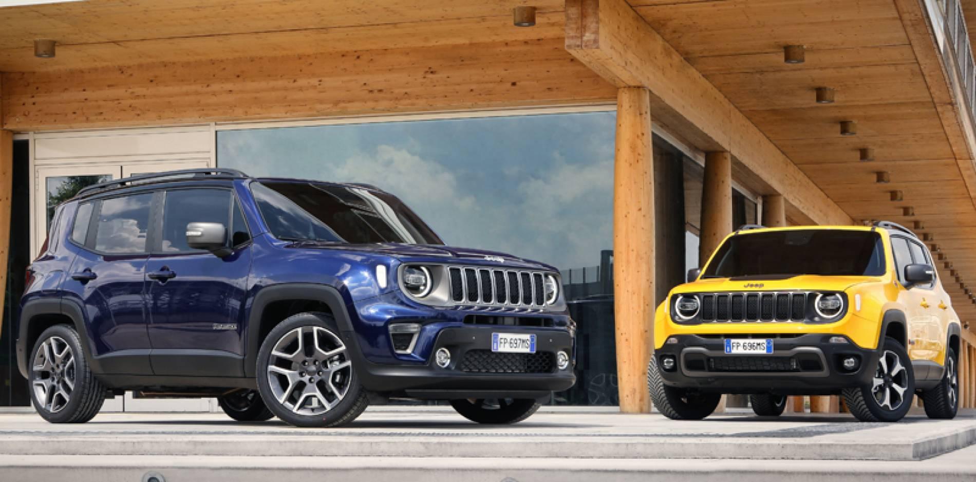 Jeep Renegade 2019, nuevos motores turbo de gasolina de tres y cuatro cilindros