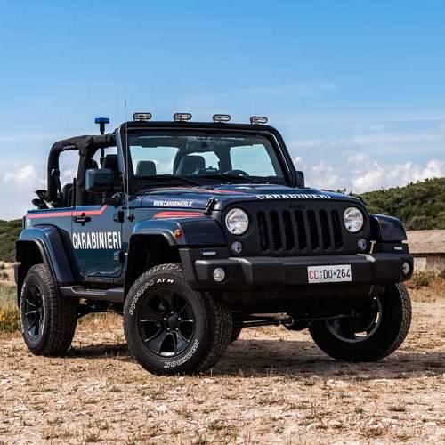 Los Carabinieri patrullarán las playas italianas con estilo en un Jeep Wrangler