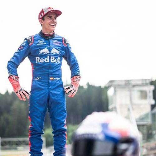 Marc Márquez cambia su MotoGP por un Fórmula 1