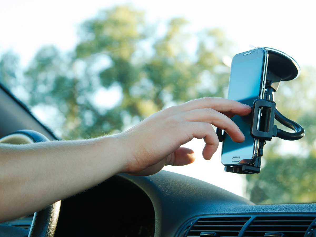 Llamar a la policía en caso de acoso de otro conductor