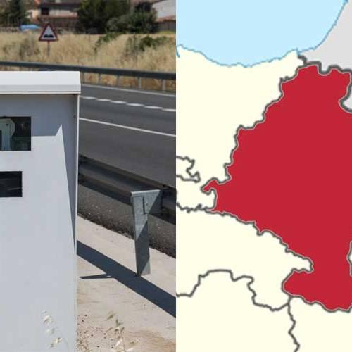 Todos los radares de Navarra