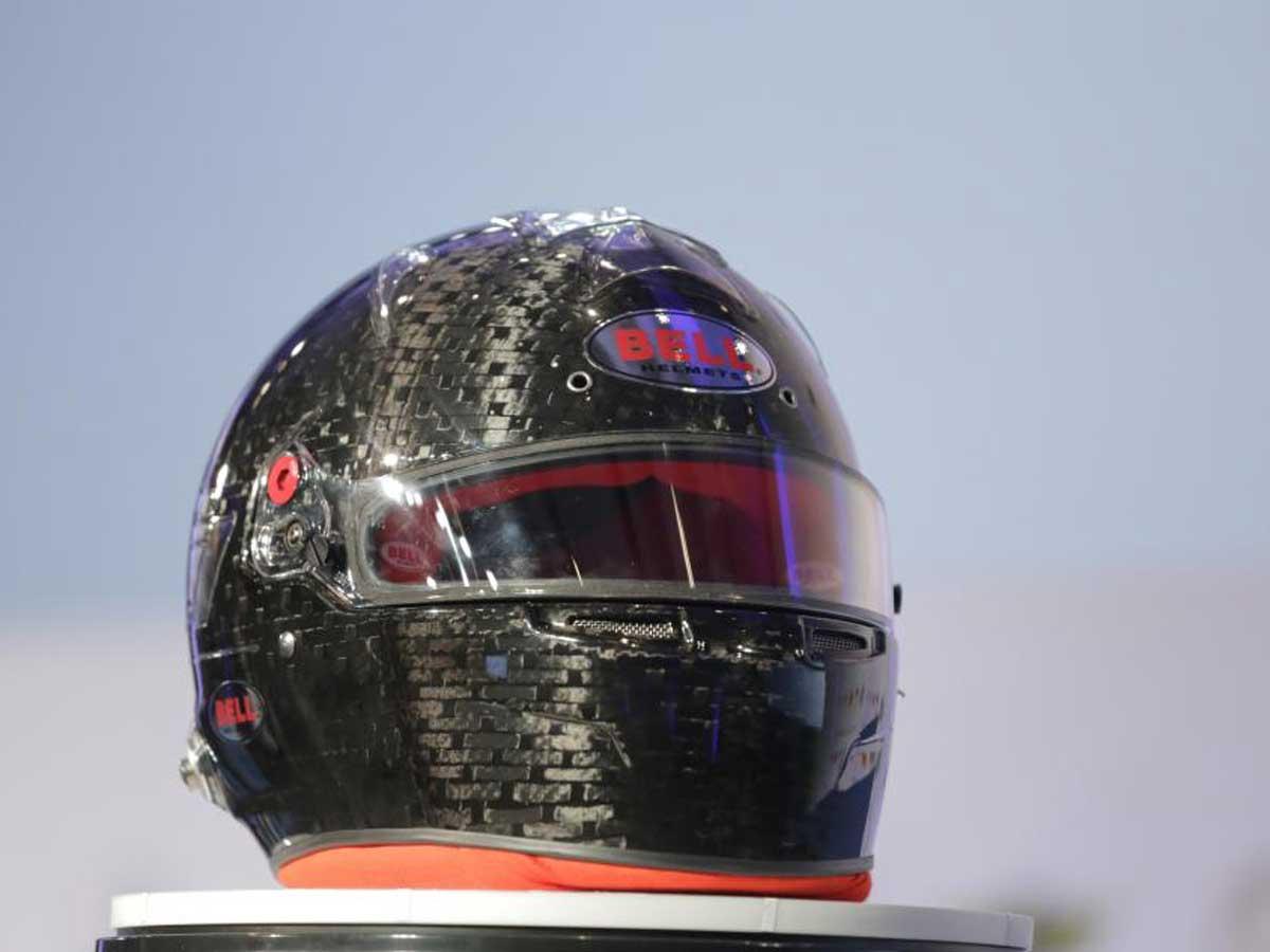Nuevo casco de la Fórmula 1 2019