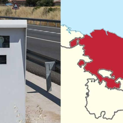 Todos los radares del País Vasco