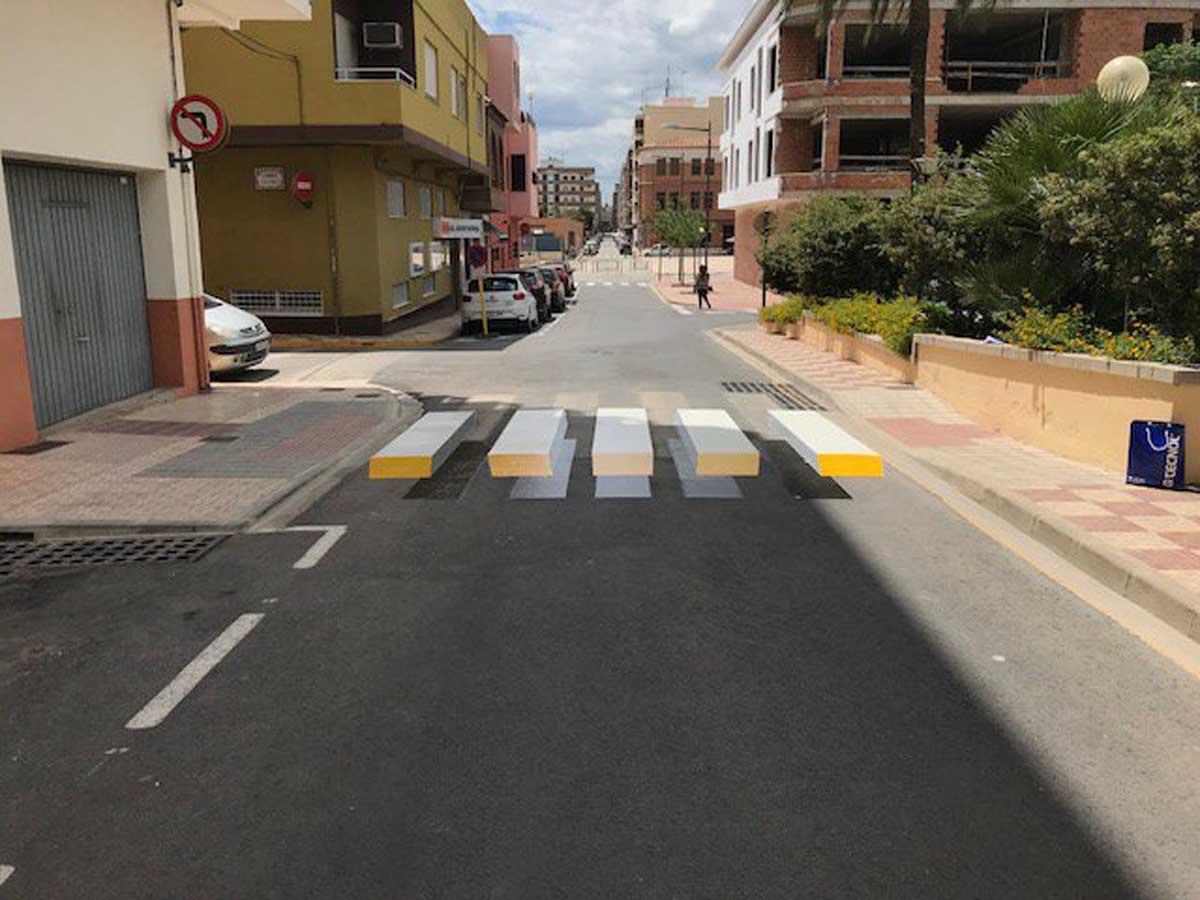 paso peatones 3D