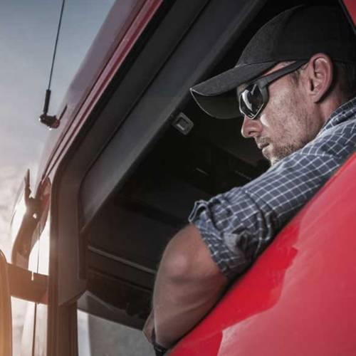 Alucina con los devastadores efectos del sol en la piel de este camionero