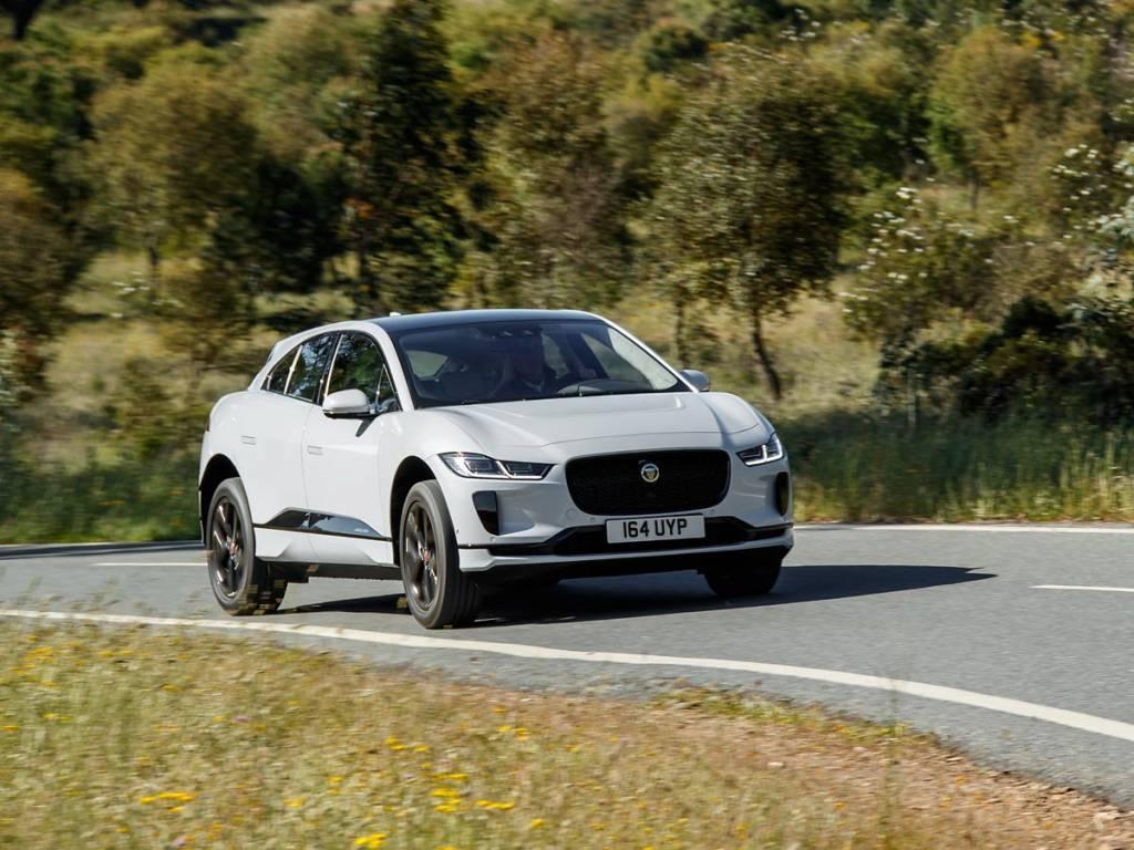 Jaguar I-PACE acción