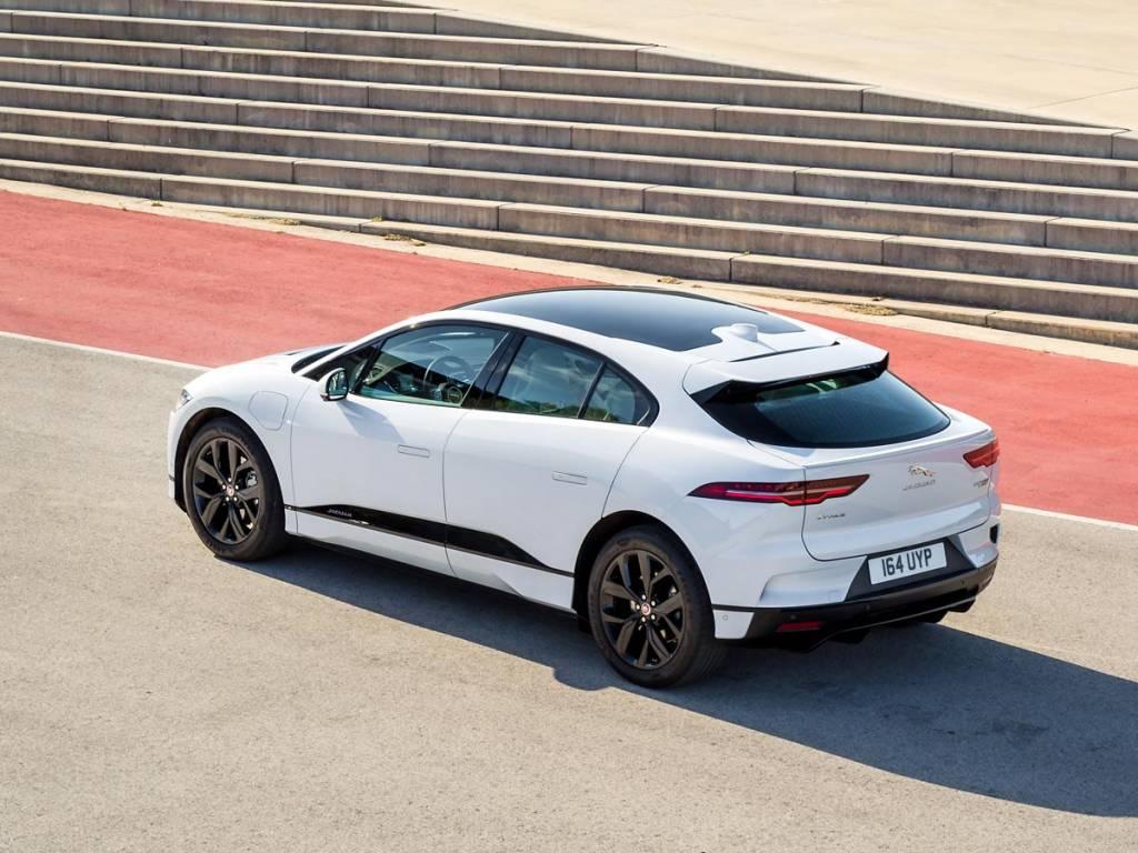 Jaguar I-PACE trasera