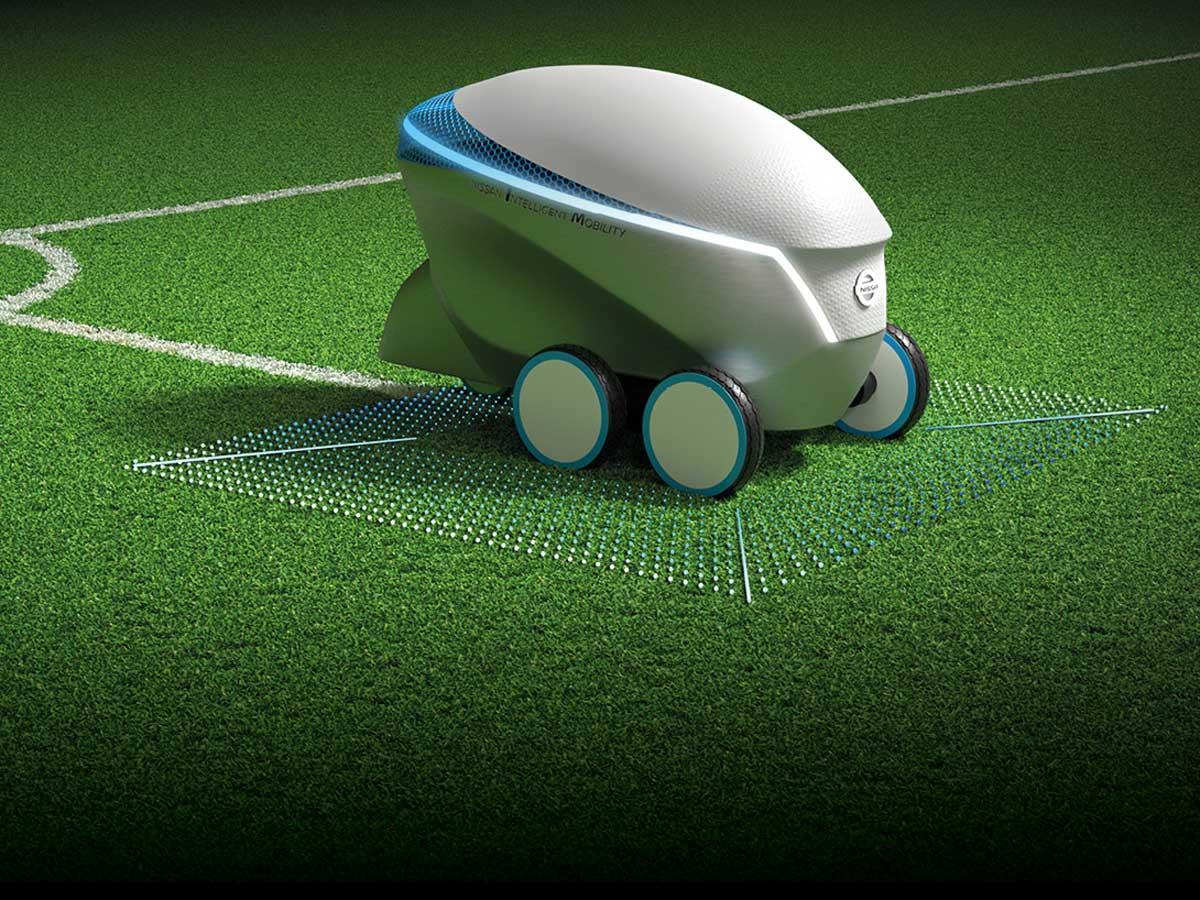 El robot autónomo de Nissan