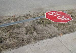 La mala señalización provoca que los conductores sean más imprudentes