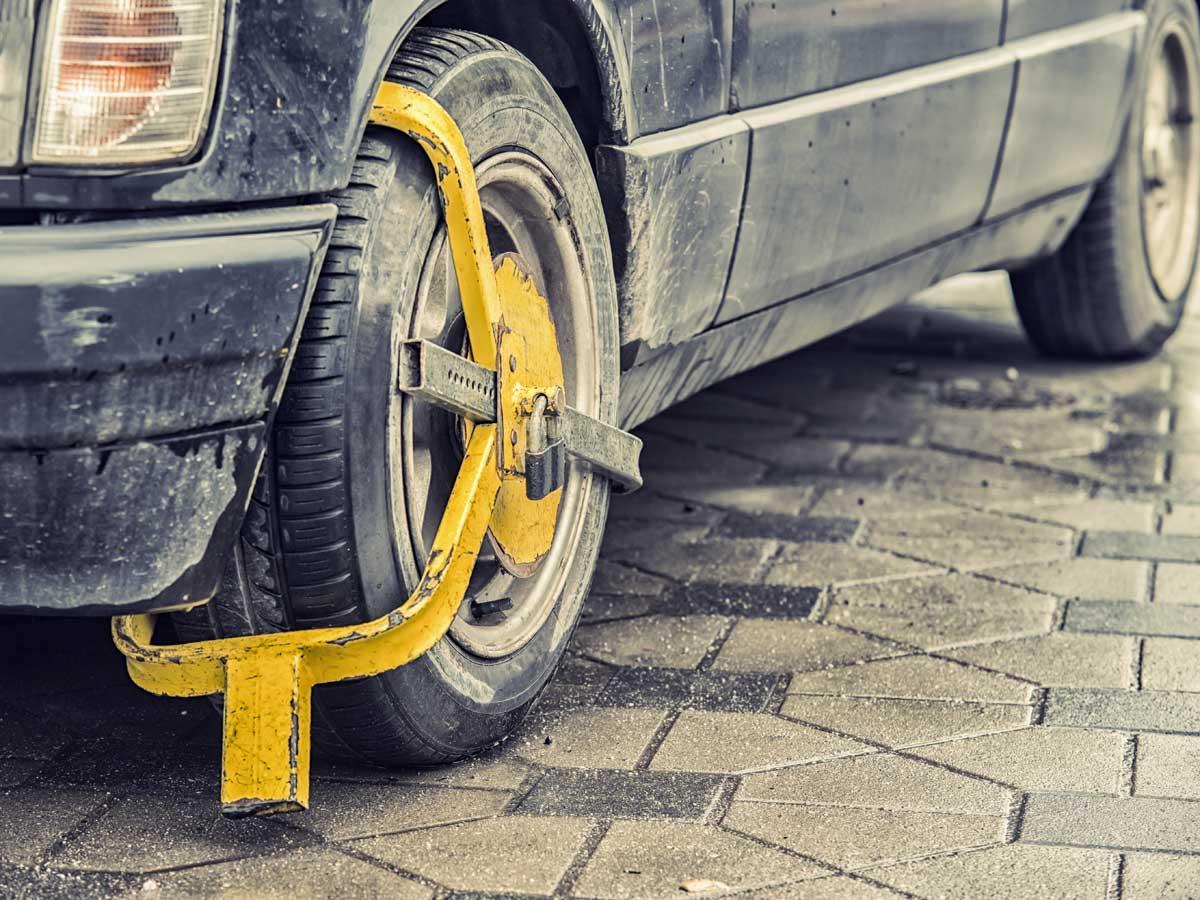 inmovilizar tu coche