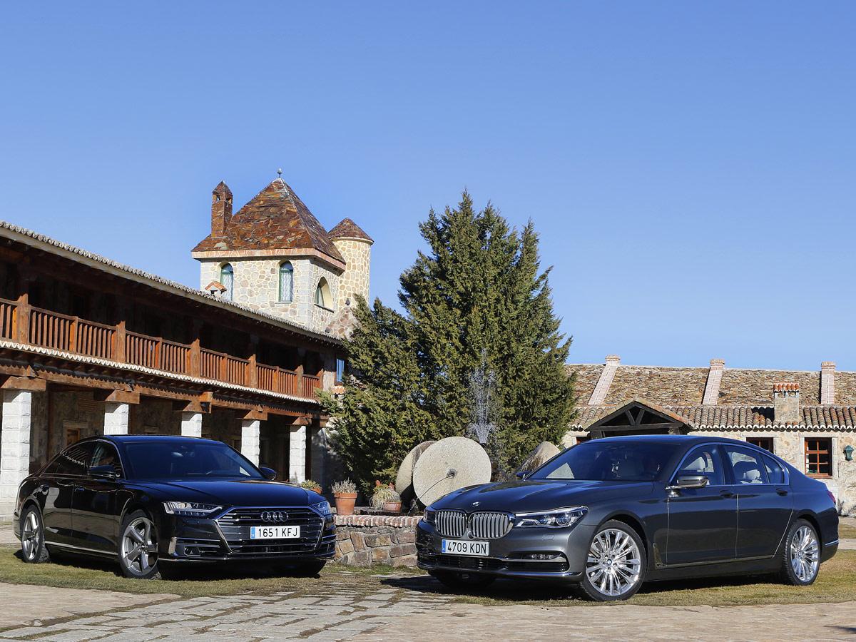 Audi A8 vs BMW 730d