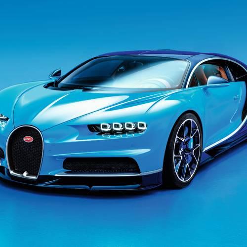 Llamada a revisión del hipercaro Bugatti Chiron
