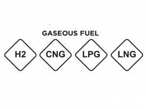 Nueva etiqueta para los combustibles gaseosos