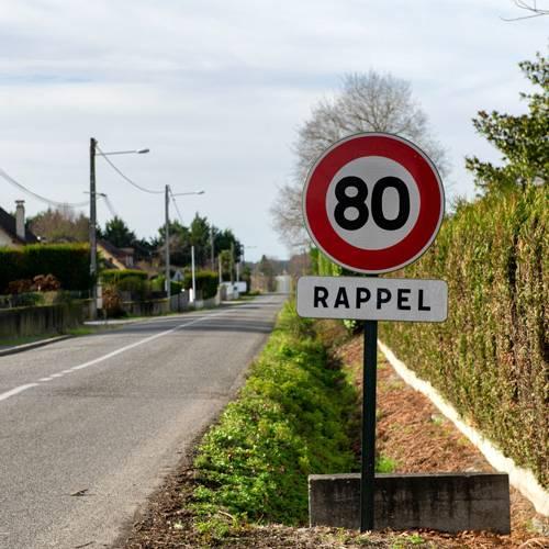 Límite 80 km/h: Francia reduce la velocidad máxima
