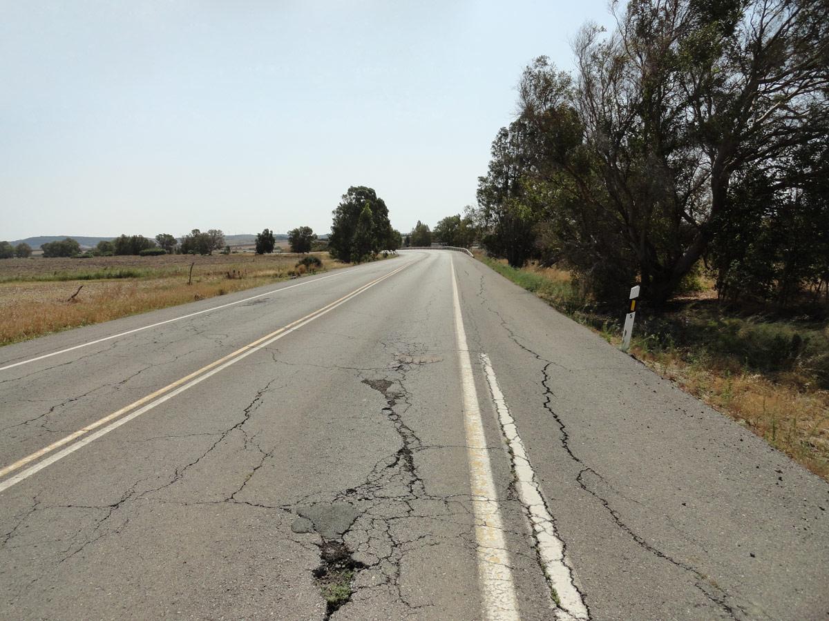 Mal estado carreteras