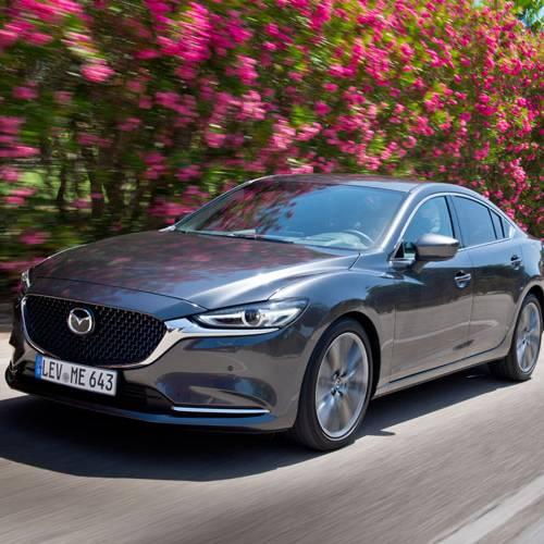 Primer contacto Mazda6 2018: más refinamiento y confort