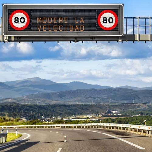 Estos son los 50 radares de tramo que hay en España
