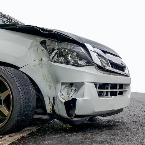 Un conductor gallego pierde todos los puntos del carné en un solo accidente