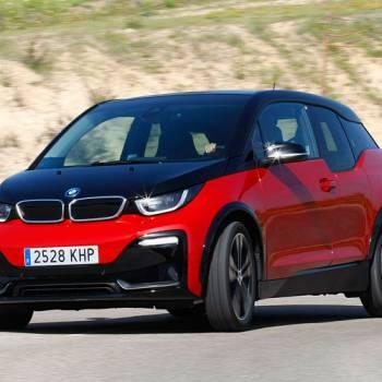 Alta tensión en la prueba del BMW i3s 94AH