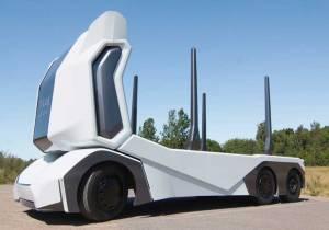 Así será el camión que marcará el futuro del transporte de mercancías