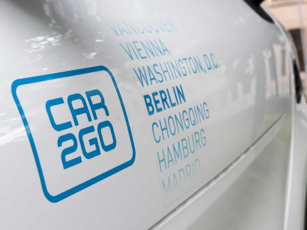 vehículo compartido Car2Go
