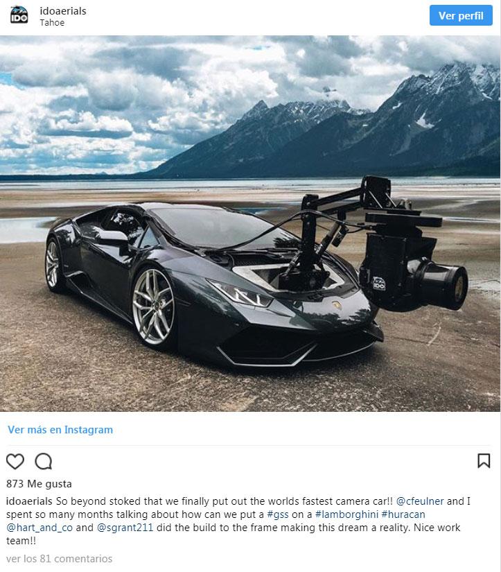 coches cámara