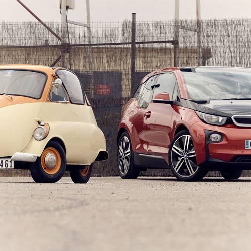 ¡Comparativa loca! Iso Isetta 250 vs. BMW i3 REX