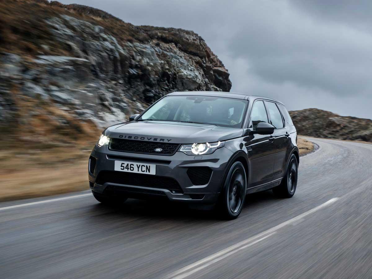 Land Rover Discovery Sport pruebas